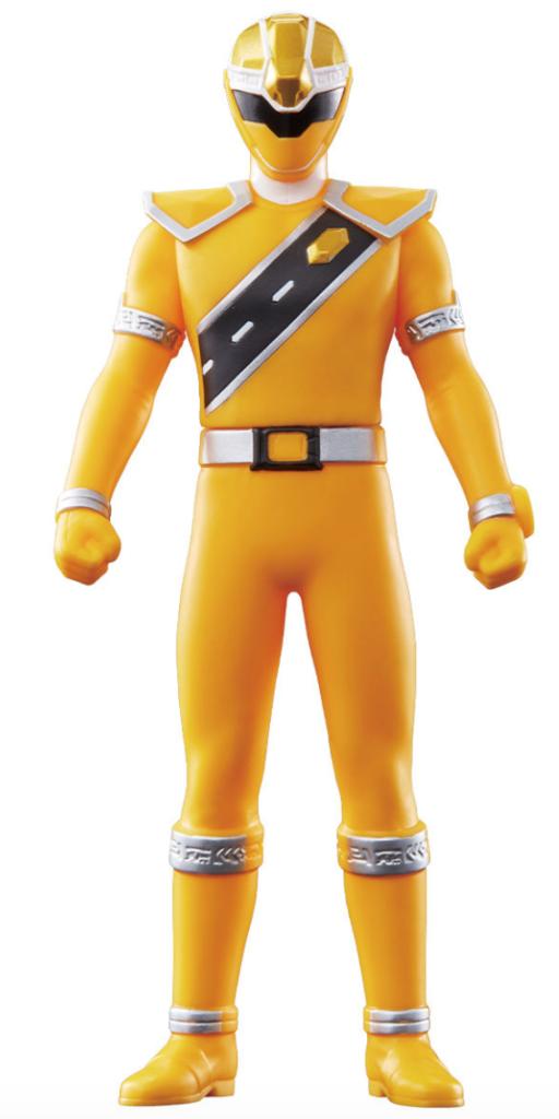 戦隊ヒーローシリーズ02 キラメイイエロー