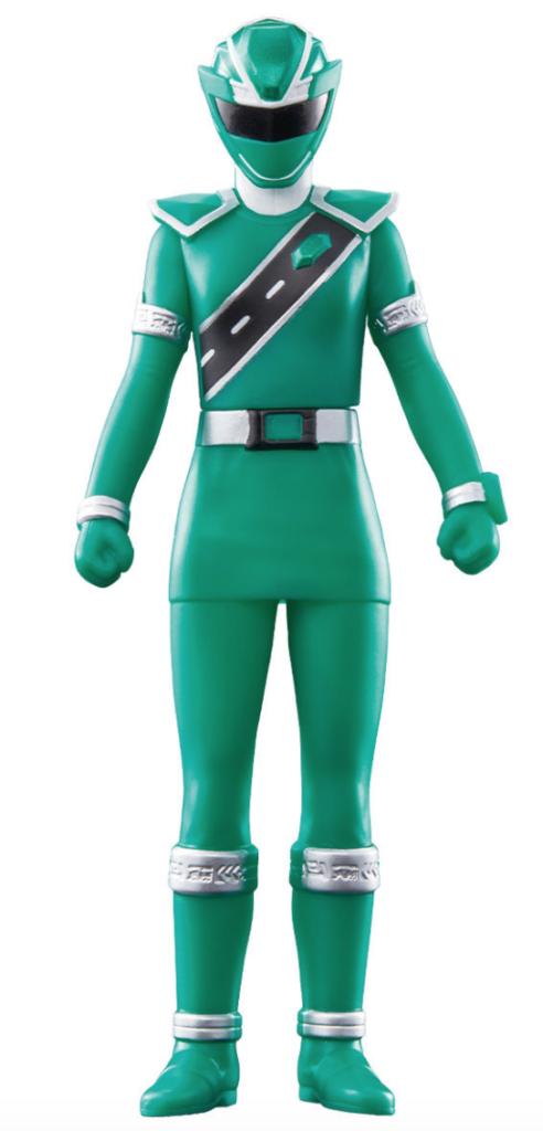 戦隊ヒーローシリーズ03 キラメイグリーン
